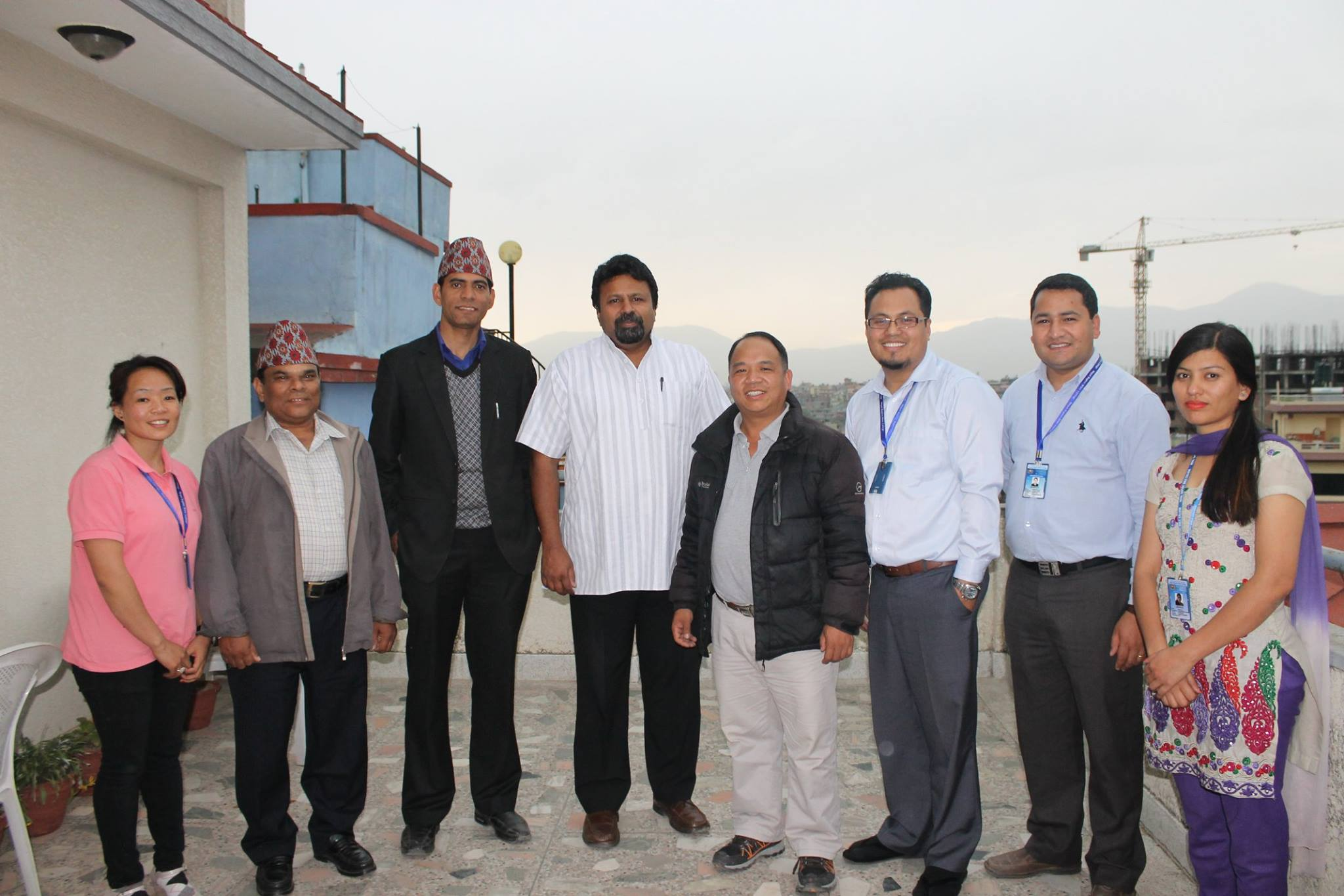 Visit to Nepal Baptist Bible College