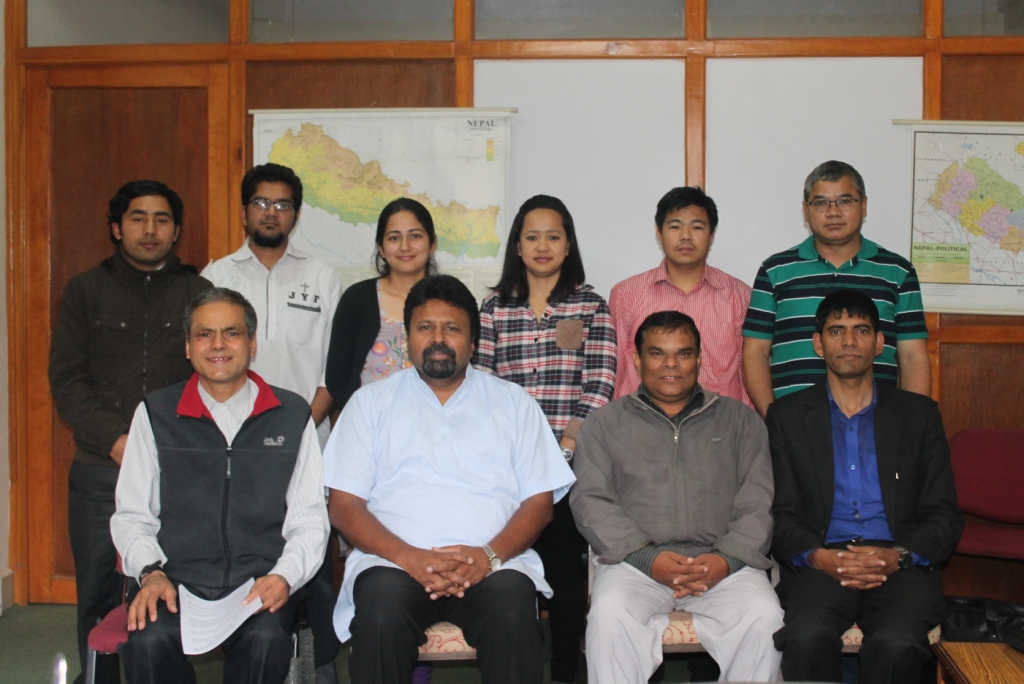 Visit to Nepal Theological College