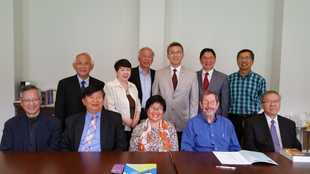 Visit to Canadian Chinese School of Theology