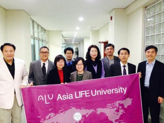 Visit to Asia LIFE University