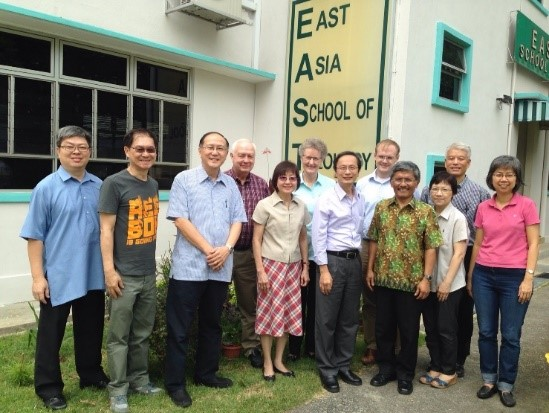 Visit to East Asia School of Theology