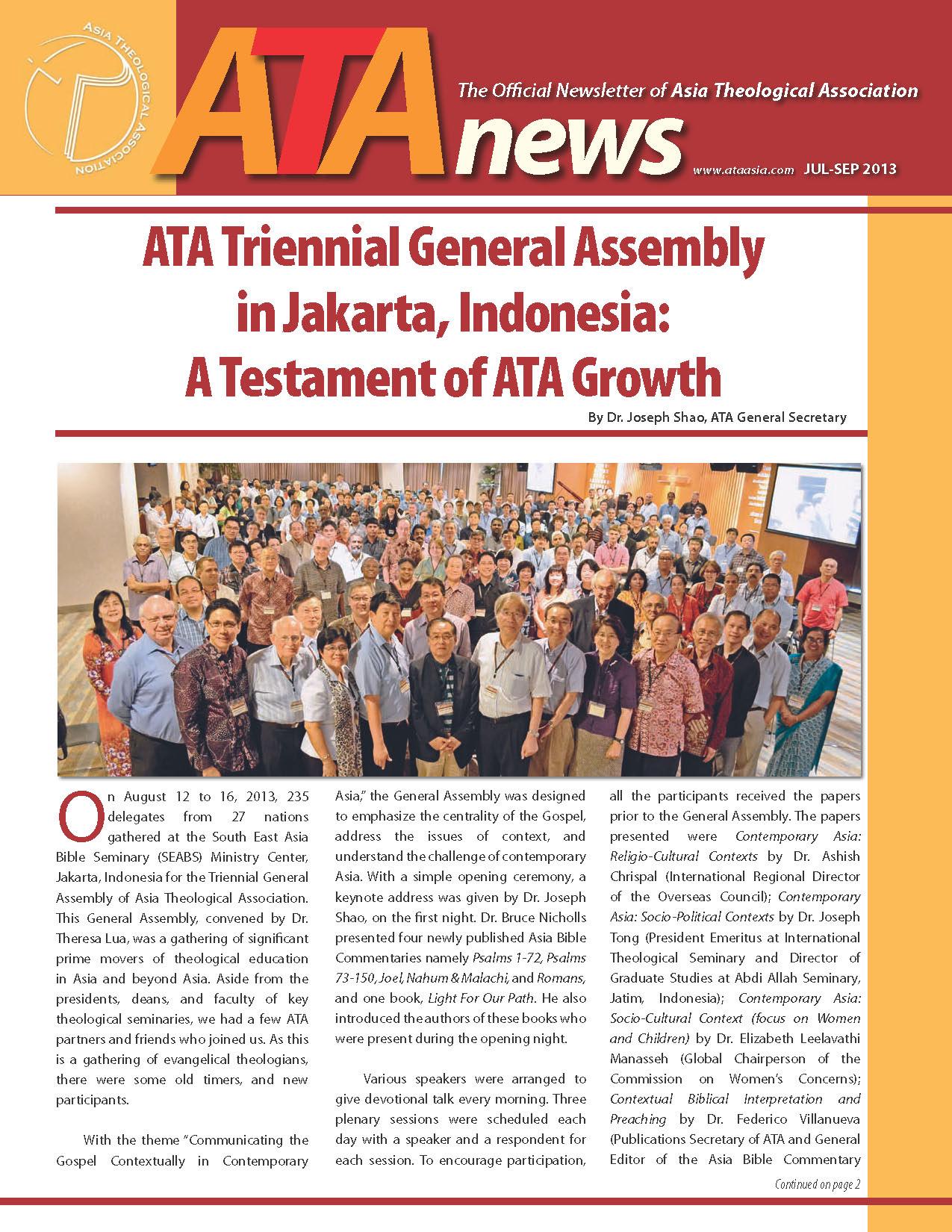ATA Newsletter Oct-Dec2013-cover